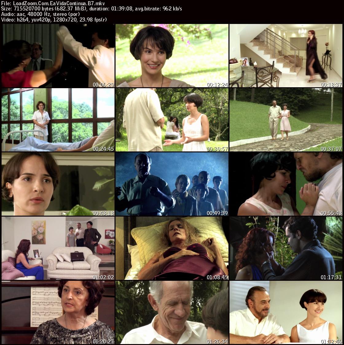 movie screenshot of E a Vida Continua fdmovie.com
