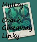 MyItzy Coach Giveaway Linky