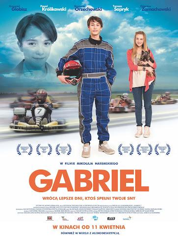 Polski plakat filmu 'Gabriel'