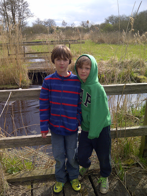 Harry and Jude at Woodwalton Fen