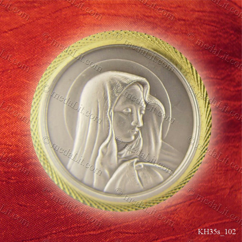 Key Medal depicting Virgin Mary
