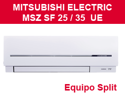 Split Mitsubishi Electric MSZ SF 25 / 50 VA