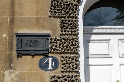 Here lived Jane Austen - Number 4 Sydney Place
