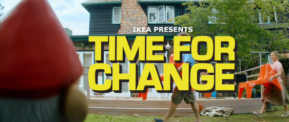 New IKEA Gnomes Ad — Time For Change Music Video