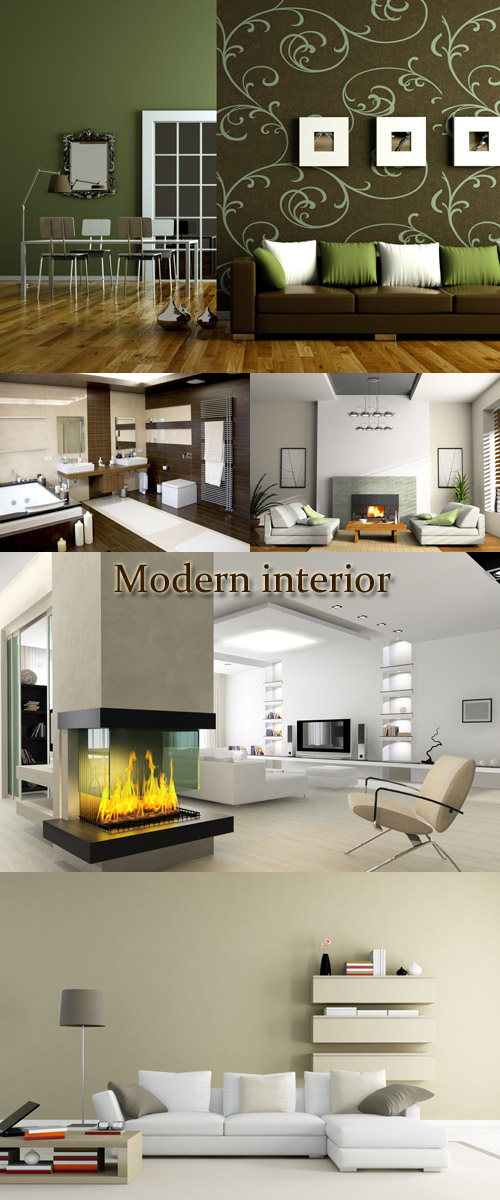 Stock Photo: Modern interior 9