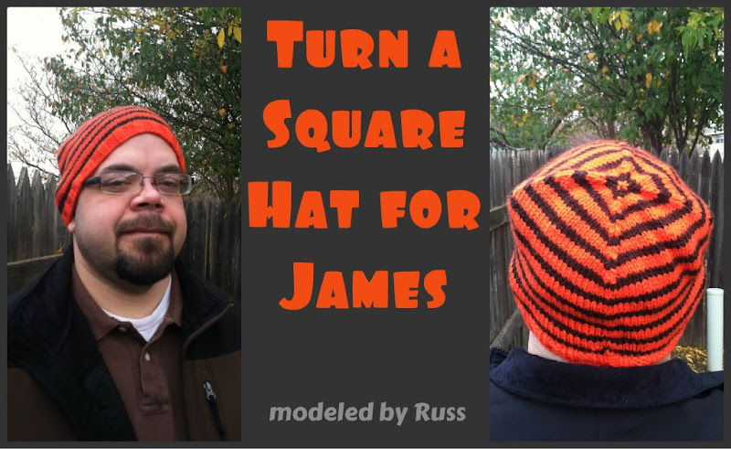 Turn a Square Hat for James