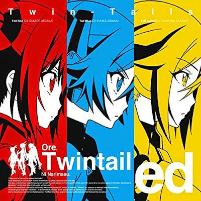 Ore, Twintails ni Narimasu. ED Single - Twintail Dreamer! Cover