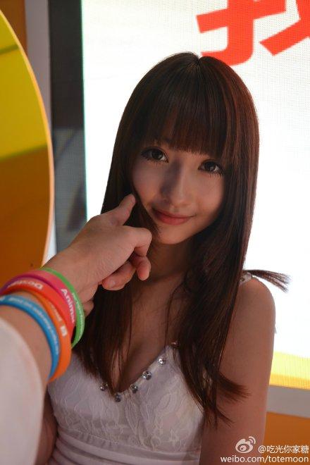 Sờ tận tay các showgirl tại ChinaJoy 2013 - Ảnh 17