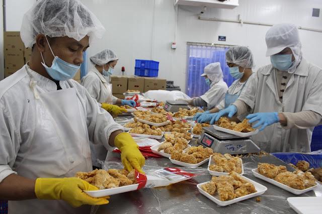Đơn hàng chế biến thực phẩm cần 9 nam làm việc tại Hyogo Nhật Bản tháng 07/2017
