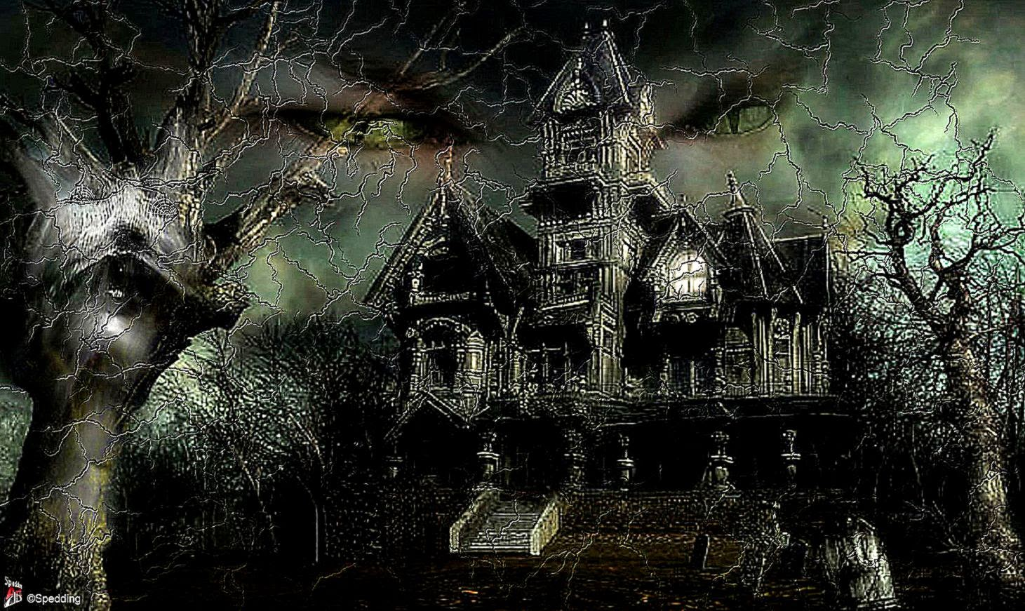 30 scary free halloween desktop wallpapers best design options