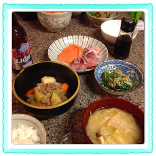 日本の夜ご飯