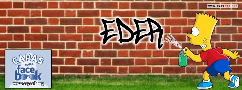 Capas para Facebook Eder