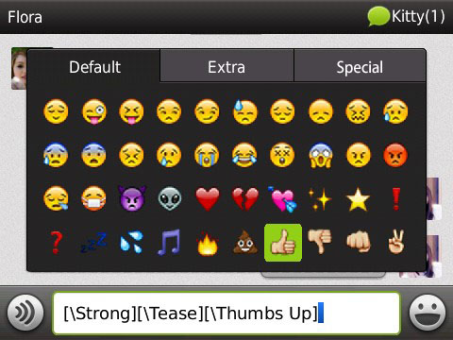 WeChat v3.5 for BlackBerry