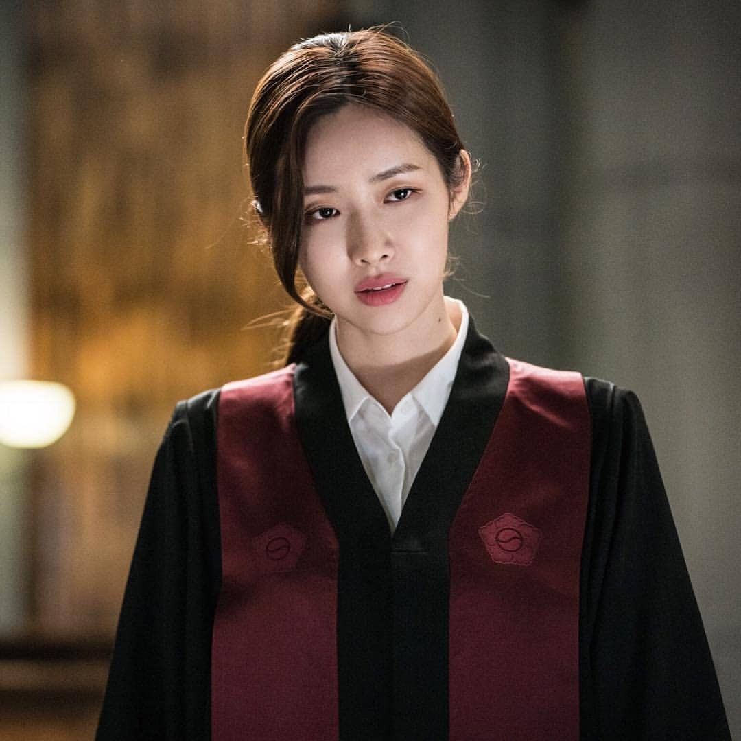 Cha Jung Won trong Lawless Lawyer: YSL Tatouage Couture màu 16