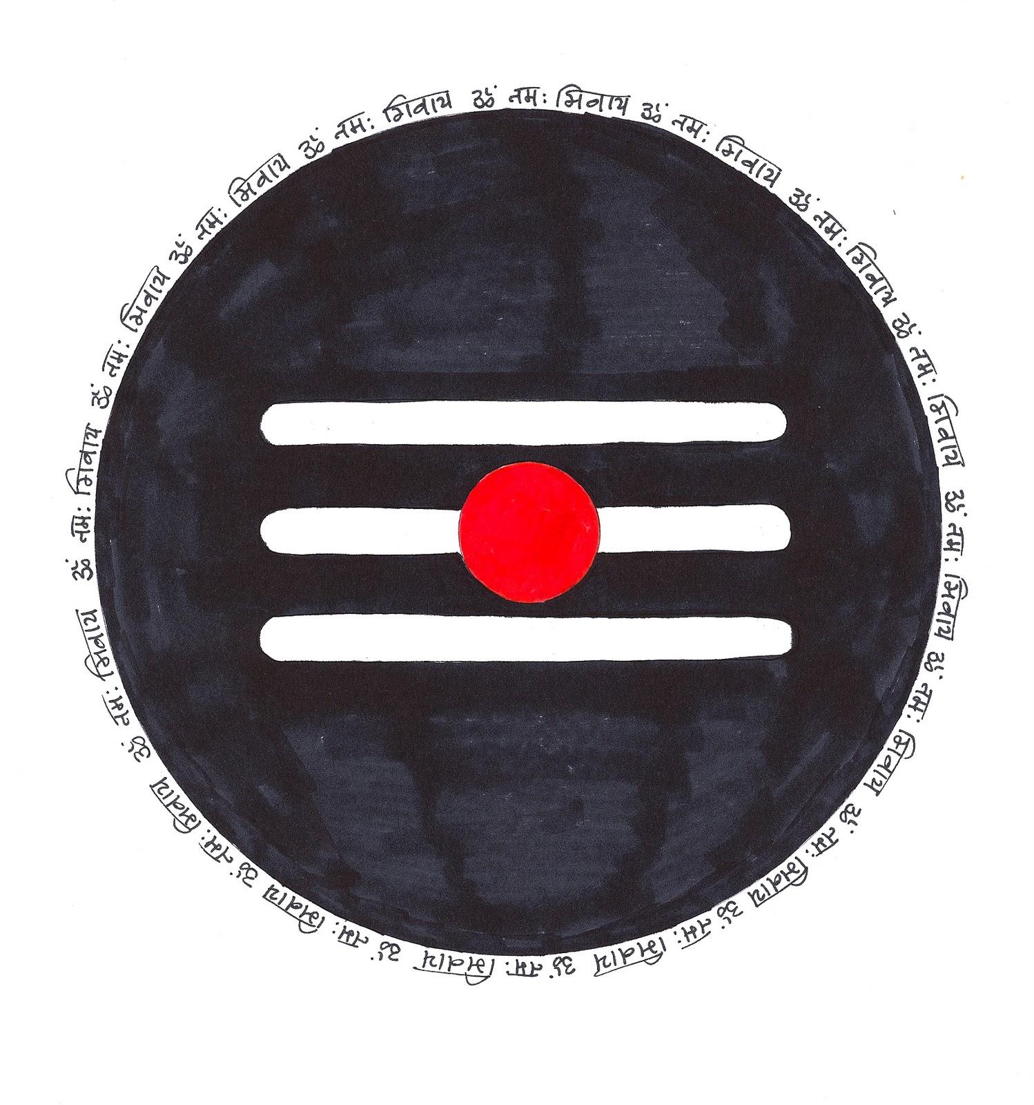 Art & Craft Projects: Lord Shiva Lingam Mandala