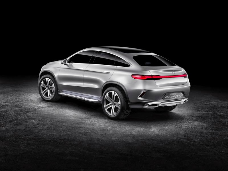 Mercedes Benz Concept Coupe Suv