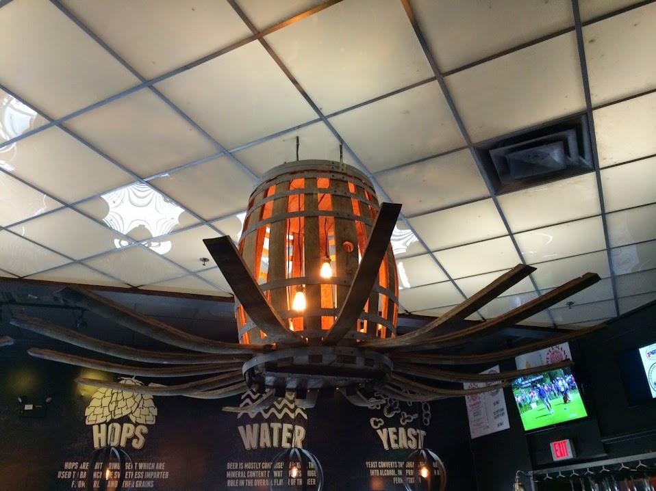 barrel lamp
