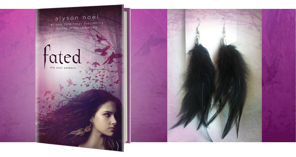 Pre-order Fated by Alyson Noel and get a pair of earrings!