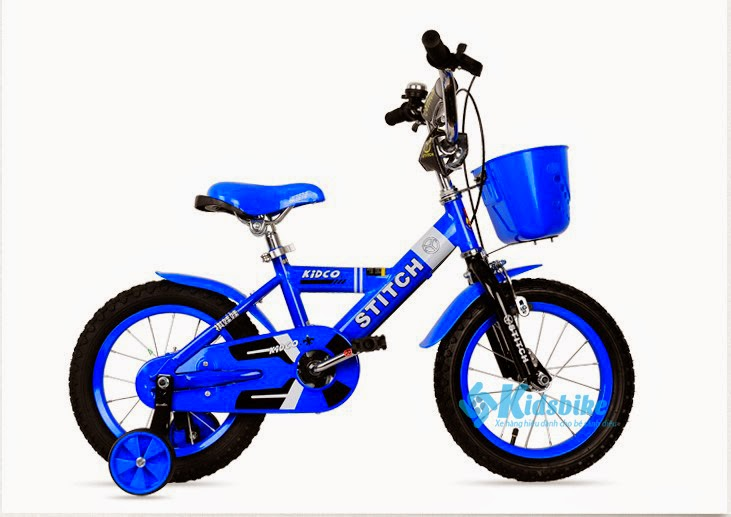 Xe đạp Stitch Kidco màu xanh nước biển