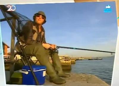 João Talocha, pescador mas pouco
