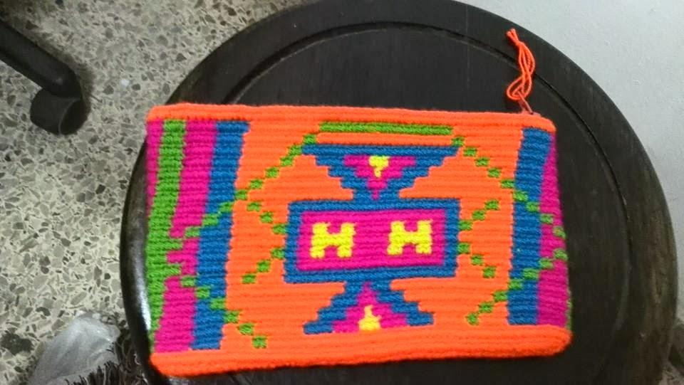 Cosmetiquera Cartera Wayuu Ref. 2