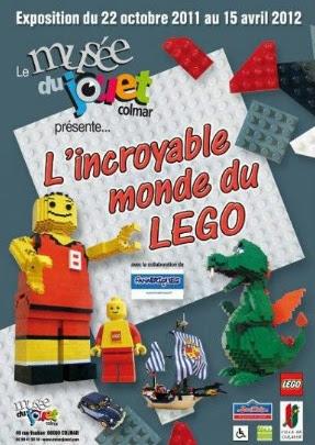 L'incroyable monde du LEGO au Musée du Jouet de COLMAR