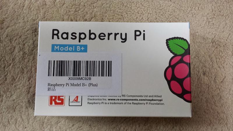 Raspberry Pi の箱