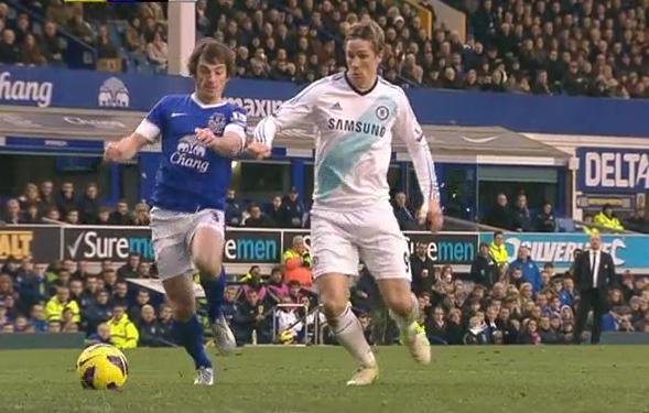 Fernando Torres, Everton - Chelsea