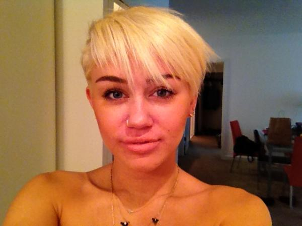 Miley Cyrus New Haircut 2012