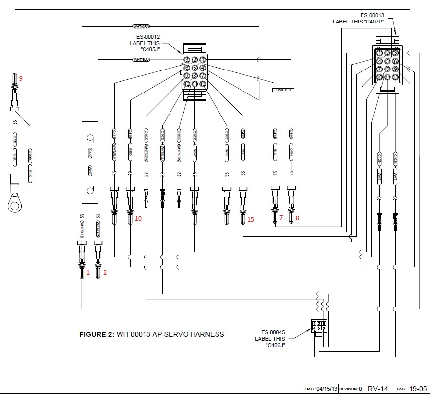 Rv-14 Wing Kit Wiring Harness - Page 3
