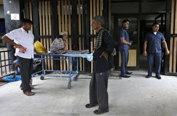 Hospital di India upah kaki pukul kawal keselamatan