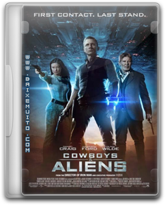Cowboys e Aliens  XVID 2011 download baixar torrent
