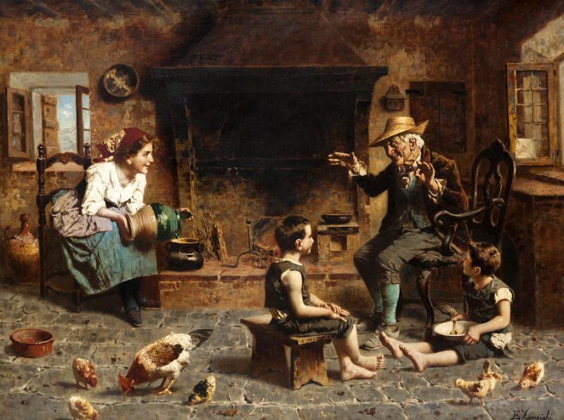 Eugenio Zampighi - Grandpa's tale