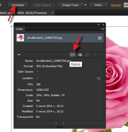 Cách giảm kích thước file thiết kế trong file