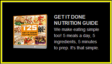 Focus T25 Nutrition Guide