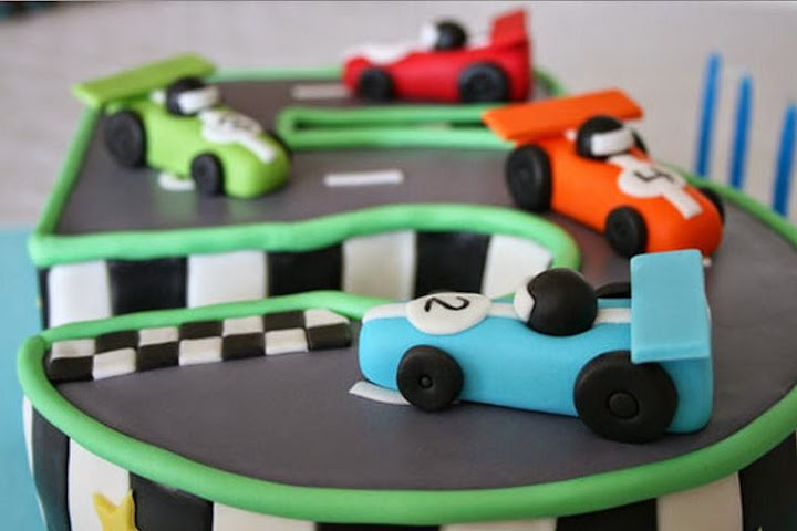 Cars Birthday Cakes