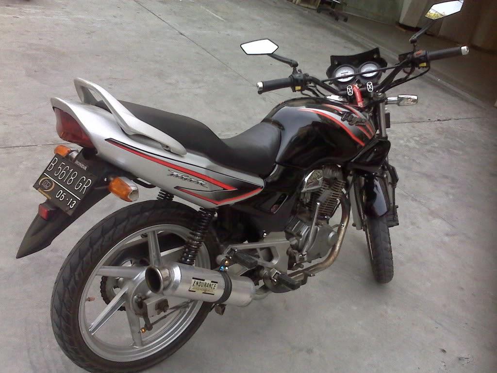Honda Tiger 2000 Modifikasi Touring