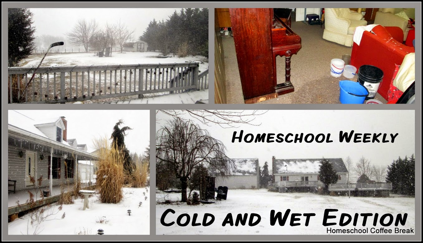 Homeschool Weekly - Cold and Wet Edition @ kympossibleblog.blogspot.com