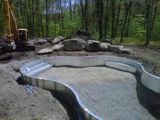 West Newbury In-ground Pool Construction