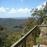 View from platform near Heaton Gap Lookout (359156)