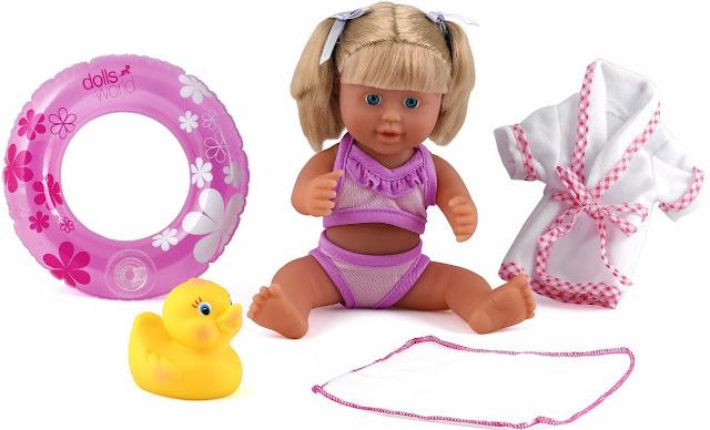 Búp Bê Dolls World Đi Biển Cùng Bé rất đáng yêu
