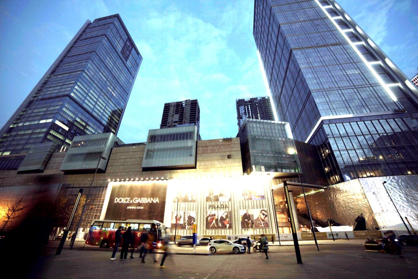 Hongxing Road 3rd Section, Jinjiang, Chengdu, Sichuan, Cina, 610016: Open Chengdu International Finance Square