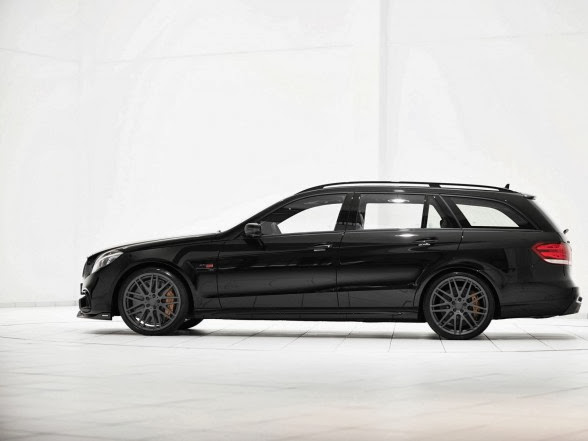2014 Brabus Mercedes-Benz E63 AMG Wagon - Side