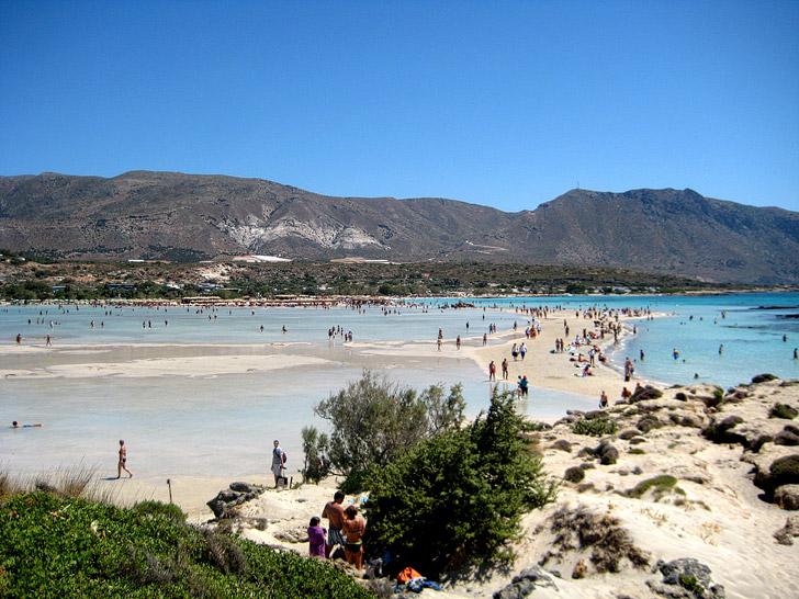 Elafonisi Beach Crete (15 Best Beaches Greece).