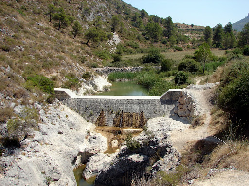 sendersimo barranc de l'Encantà: Toll Blavet
