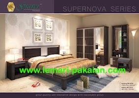 Gambar Lemari Pakaian Murah Bedroom Set Supernova
