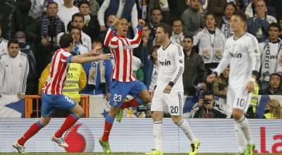 HASIL REAL MADRID VS ATLETICO MADRID 1-2 FINAL COPA DEL REY 2013