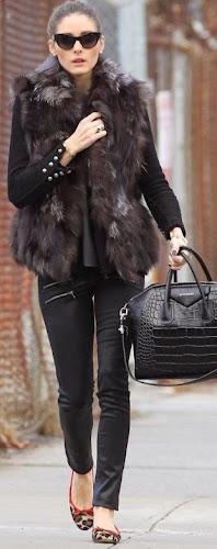 Olivia Palermo con bolso de Givenchy