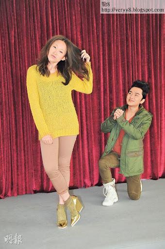 王祖藍與王菀之在《老表,你好嘢!》中由親戚變成情侶,以搞笑及令人窩心去演繹,故不會加插親熱戲。