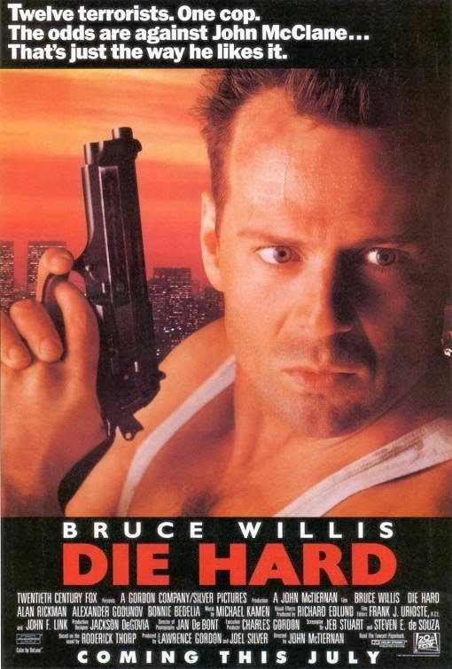 Poster Of Die Hard (1988) Full Movie Hindi Dubbed Free Download Watch Online At Alldownloads4u.Com